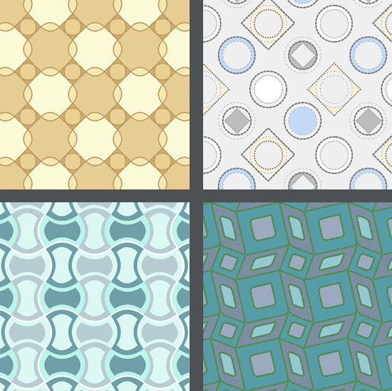 Geometric textile design (click image for more)